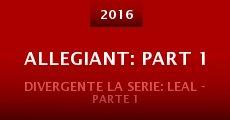 Divergente La Serie: Leal - Parte 1