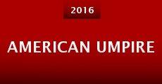 Película American Umpire
