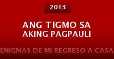 Película Ang tigmo sa aking pagpauli