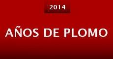 Años De Plomo (2014) stream