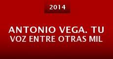 Película Antonio Vega. Tu voz entre otras mil