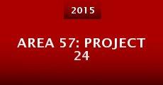 Película Area 57: Project 24