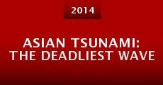 Asian Tsunami: The Deadliest Wave (2014) stream