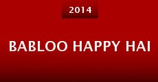 Película Babloo Happy Hai