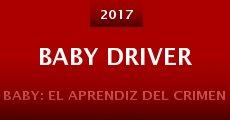 Película Baby Driver