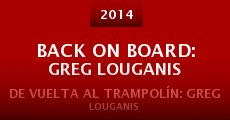 Película Back on Board: Greg Louganis