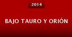 Bajo Tauro y Orión (2014)