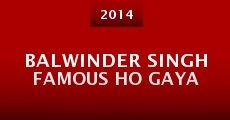 Película Balwinder Singh Famous Ho Gaya
