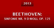 Beethoven: Sinfonie Nr. 9 d-Moll op. 125 (2013)