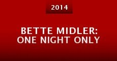 Película Bette Midler: One Night Only
