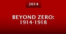 Beyond Zero: 1914-1918 (2014)