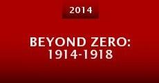 Película Beyond Zero: 1914-1918