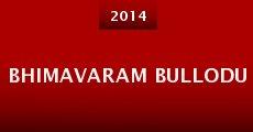 Película Bhimavaram Bullodu