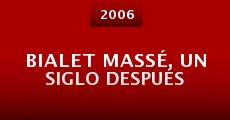 Película Bialet Massé, un siglo después