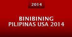 Película Binibining Pilipinas USA 2014