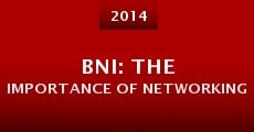 Película BNI: The Importance of Networking