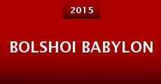 Película Bolshoi Babylon