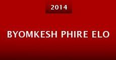 Película Byomkesh Phire Elo