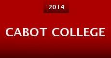 Película Cabot College