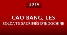Película Cao Bang, les soldats sacrifiés d'Indochine