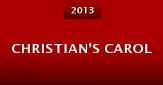 Christian's Carol (2013) stream