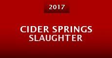 Cider Springs Slaughter (2015)