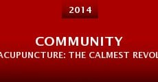 Community Acupuncture: The Calmest Revolution Ever Staged (2014) stream