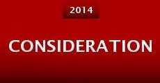Consideration (2014) stream