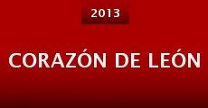 Corazón de león (2013) stream