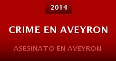 Película Crime en Aveyron