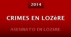 Crimes en Lozère (2014) stream