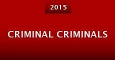 Criminal Criminals (2015)