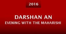 Película Darshan an Evening with the Maharishi