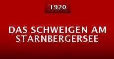 Película Das Schweigen am Starnbergersee