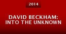 Película David Beckham: Into the Unknown