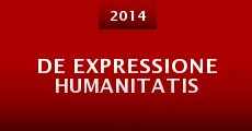 Película De expressione humanitatis