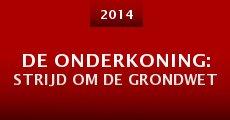De onderkoning: strijd om de grondwet (2014)