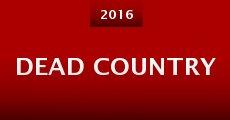 Dead Country (2015) stream