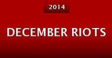 Película December Riots