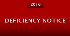 Deficiency Notice (2016)