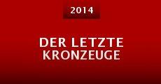 Ver película Der letzte Kronzeuge