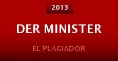Película Der Minister