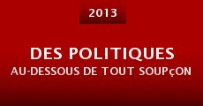 Des politiques au-dessous de tout soupçon (2013)