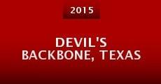 Película Devil's Backbone, Texas