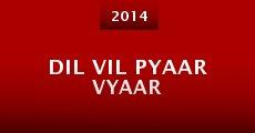 Dil Vil Pyaar Vyaar (2014) stream