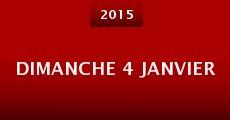 Dimanche 4 janvier (2015)