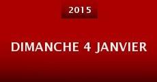 Dimanche 4 janvier (2015) stream