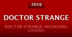 Doctor Strange (2016) stream