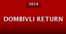 Película Dombivli Return
