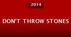 Película Don't Throw Stones